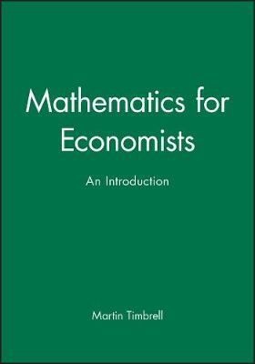 Mathematics for Economists: An Introduction