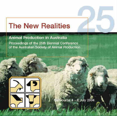 Animal Production in Australia: Proceedings of the 25th Biennial Conference of the Australian...