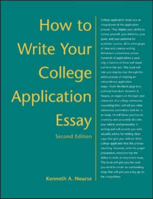 How to Write Your College Application Essay