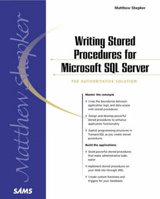 Writing Stored Procedures for Microsoft SQL Server