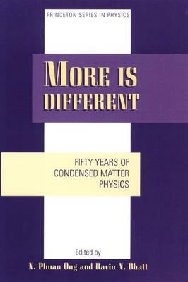 More is Different: Fifty Years of Condensed Matter Physics