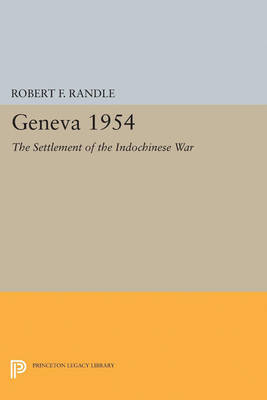 Geneva 1954. The Settlement of the Indochinese War
