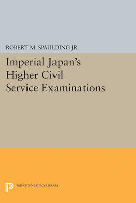 Imperial Japan's Higher Civil Service Examinations