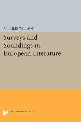 Surveys and Soundings in European Literature