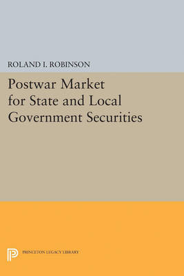 Postwar Market for State and Local Government Securities