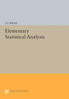 Elementary Statistical Analysis