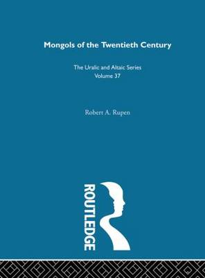 Mongols of the Twentieth Century