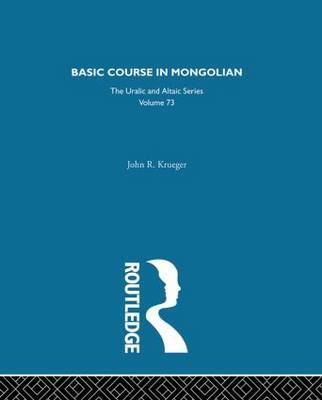 Basic Course in Mongolian