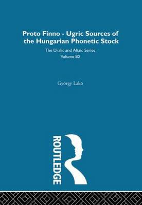 The Proto-Finno-Ugric Antecedents of the Hungarian Phonetic Stock