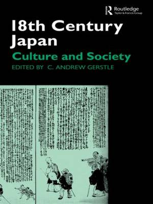 18th Century Japan: Culture and Society