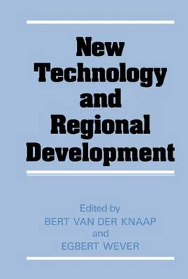 New Technology and Regional Development: Congress on Technology and Industrial Change
