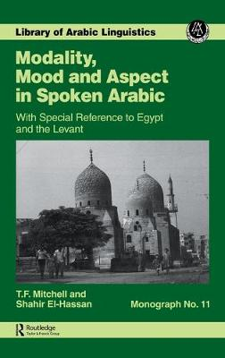 Modality Mood & Aspect Mon 11: With Special Reference to Egypt and the Levant
