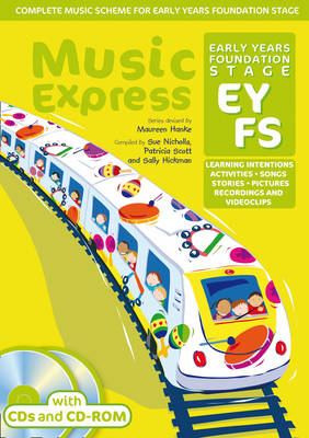 Music Express Foundation Stage (Book + 2CDs + CD-ROM): Activities, Learning Intentions, Recordings, Videoclips