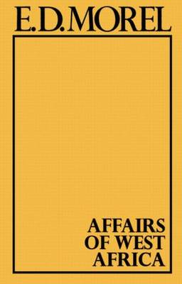 Affairs of West Africa