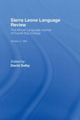 African Language Review: v. 4