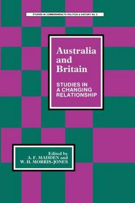 Australia and Britain: Studies in a Changing Relationship