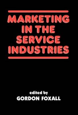 Marketing in the Service Industries: Marketing Service Inds