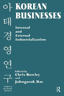 Korean Businesses: Internal and External Industrialization