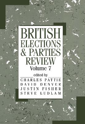 British Elections and Parties Review: Volume 7