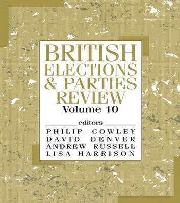 British Elections and Parties Review: Volume 10