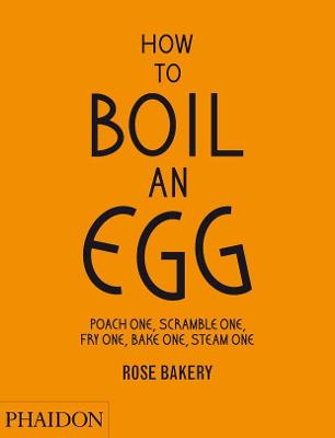 How to Boil an Egg; Poach one, Scramble one, Fry one, Bake one, Steam one, make them into Omelettes, French Toast, Pancakes, Puddings, Crepes, Tarts, Quiches, Custard, Soups, Scones, Muffins, Flans, Frittatas, Gratins, Cakes, Gnocchi, Salads, Sandwiches,