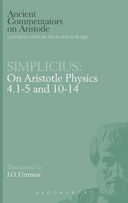 "On Aristotle ""Physics 4, 1-5 and 10-14"""