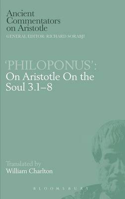 "On Aristotle ""On the Soul 3.1-8"""