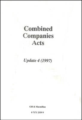 Combined Companies Acts Update 4