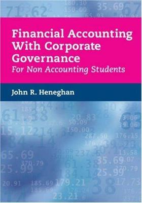 Financial Accounting with Corporate Governance for Non Accounting Students