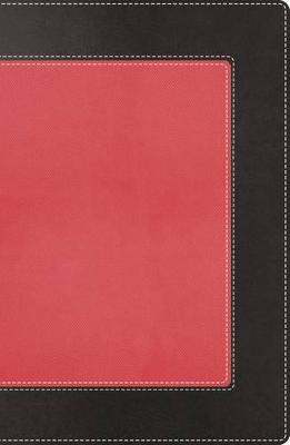 NKJV, The Woman's Study Bible, Leathersoft, Pink/Black, Indexed