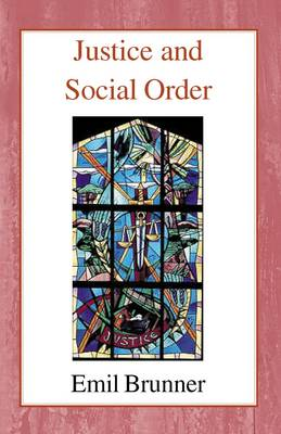 Justice and Social Order