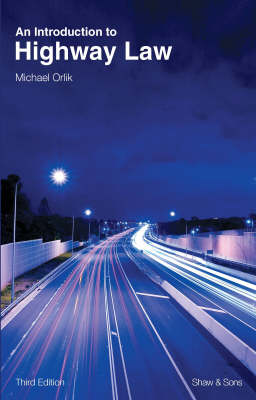 An Introduction to Highway Law