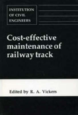 Cost-effective Maintenance of Railway Track