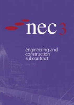 Nec3 Engineering and Construction Subcontract