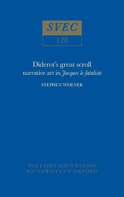 """Diderot's Great Scroll: narrative art in """"Jacques le fataliste"""": 1975"""