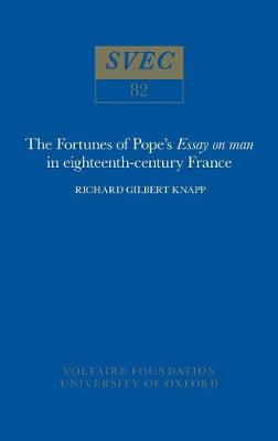 """The Fortunes of Pope's """"Essay on Man"""" in 18th-Century France"""