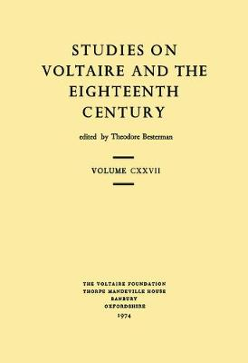 Voltaire Collectaneous: 1974