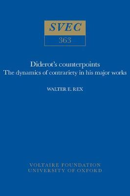 Diderot's Counterpoints: The Dynamics of Contrariety in His Major Works
