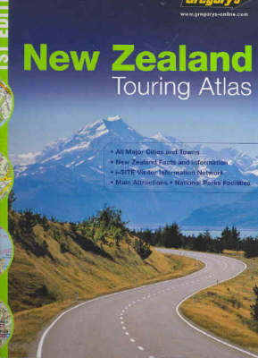 Gregory's Touring Atlas New Zealand