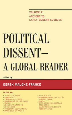 Political Dissent: A Global Reader: Ancient to Early-Modern Sources