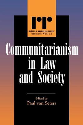 Communitarianism in Law and Society