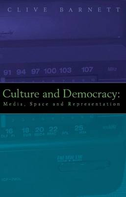 Culture and Democracy: Media, Space and Representation