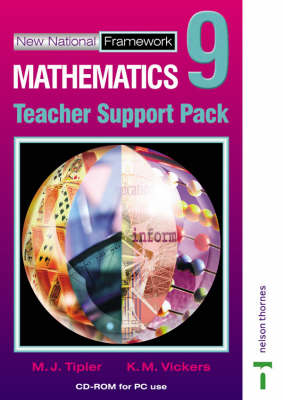 New National Framework Mathematics 9 Core Teacher CD-ROM