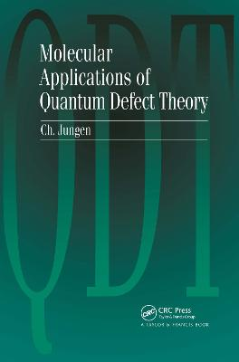 Molecular Applications of Quantum Defect Theory