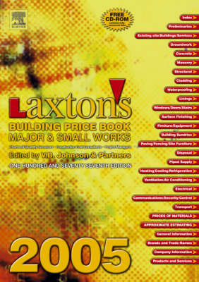 Laxton's Building Price Book: 2005
