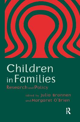Children In Families: Research And Policy