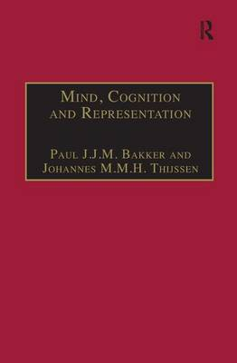 """Mind, Cognition and Representation: The Tradition of Commentaries on Aristotle's """"De Anima"""""""