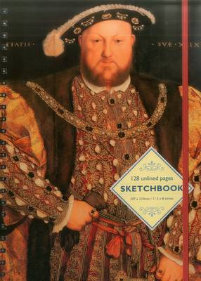 Sketchbook - Portrait of Henry VIII: By Hans Holbein the Younger