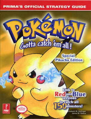 Pokemon Yellow: Official Strategy Guide