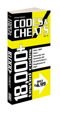 Codes and Cheats: Prima Official Codes and Cheats Book